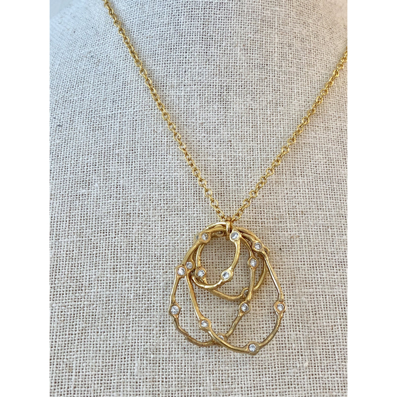 Sample Sale! 4 Oval Necklace