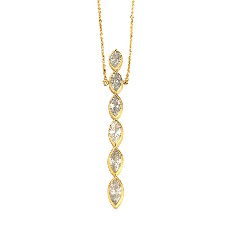 Maxi Aurelia Line Necklace