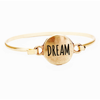 Dream Bangle-Gold