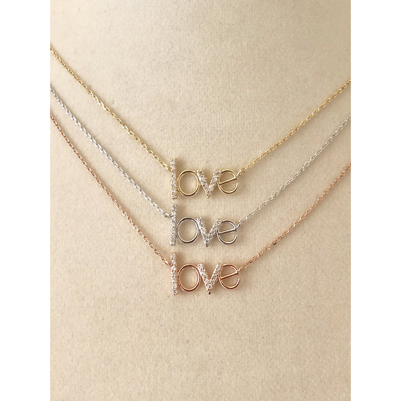 Love Necklace-Gold