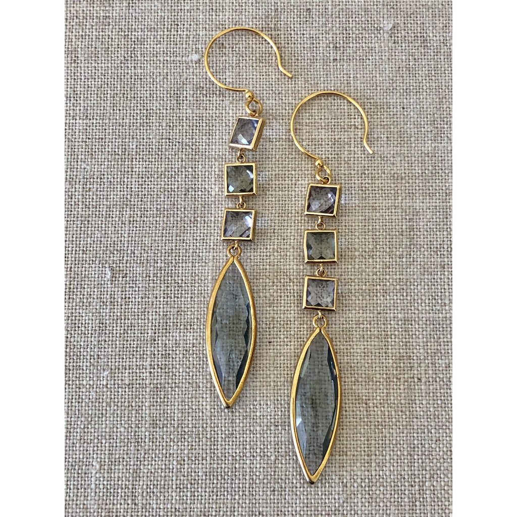 Sample Sale! Sea Jewels Triple Drop Earring