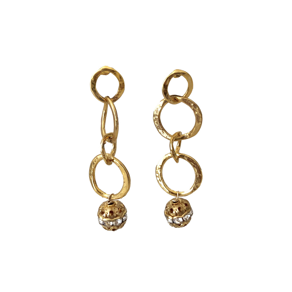 Sample Sale! Interlocking Circle Earring