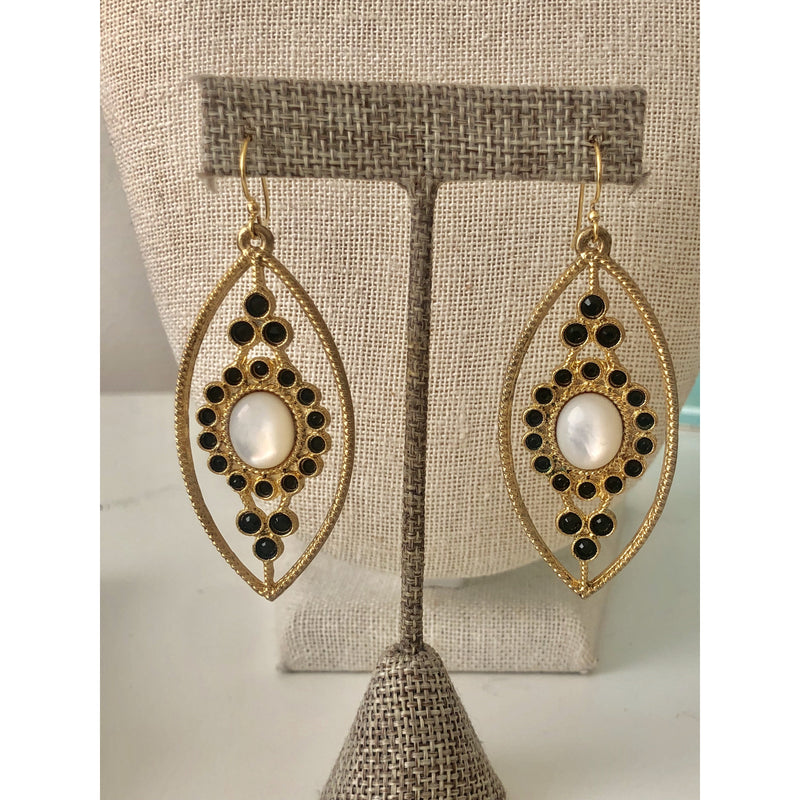 Sample Sale! Mother of Pearl Drop Earring