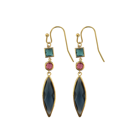 Santorini Multi Drop Earring