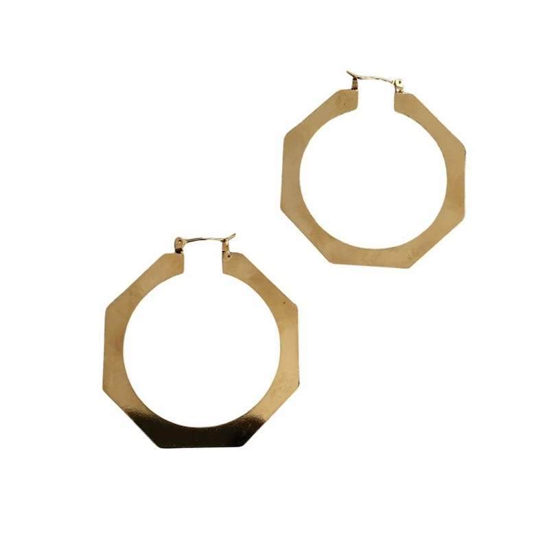 Sample Sale! Geometric Hoop