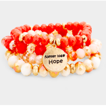 Never Lose Hope-Orange