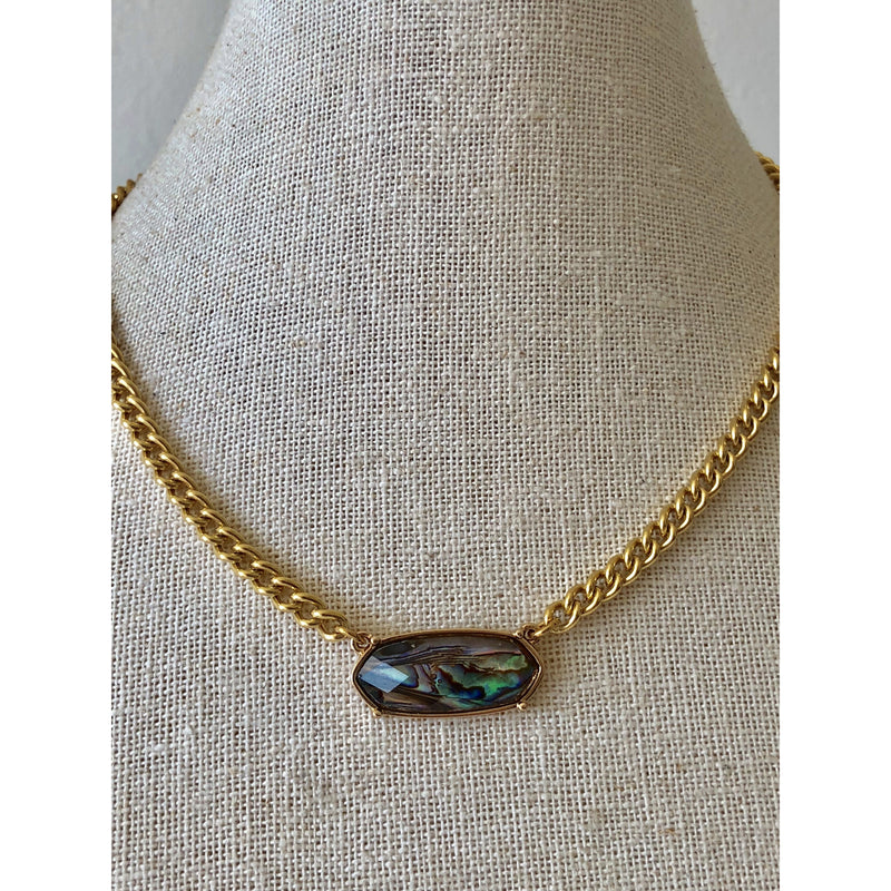 Sample sale! Abalone Choker