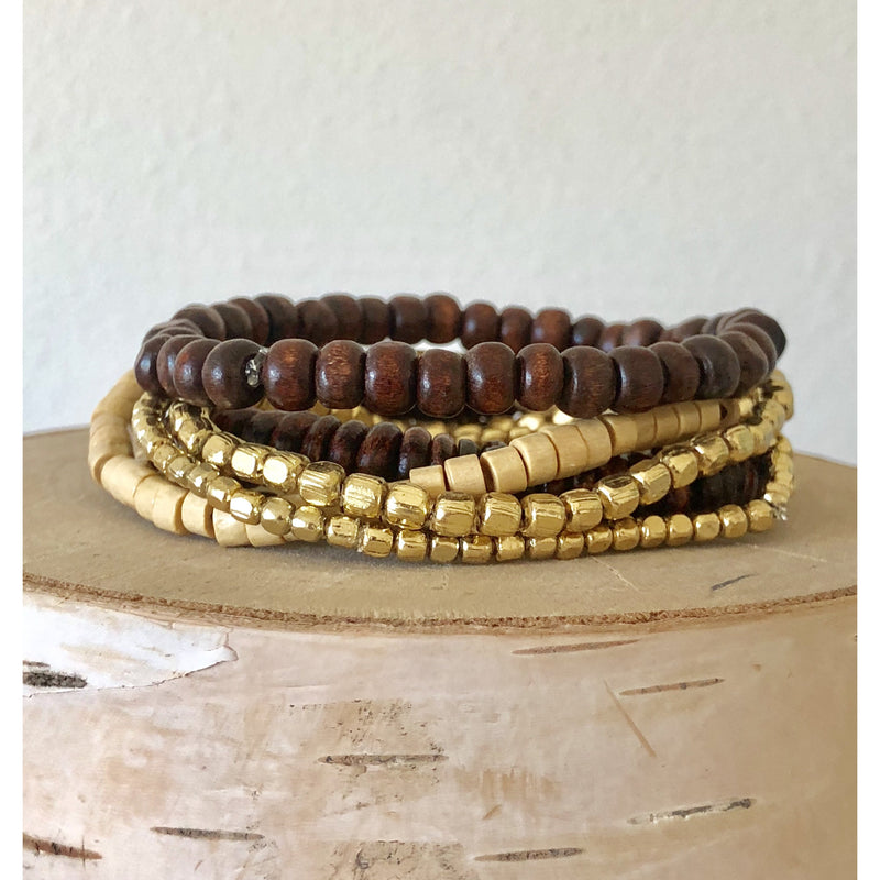 The Fast Flash! Wood Bead Stack