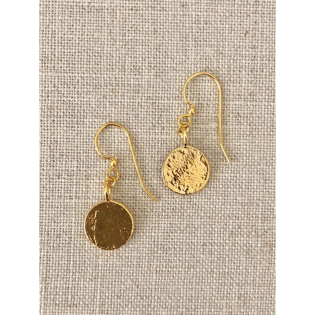 Sample Sale! Coin Drop Earrings