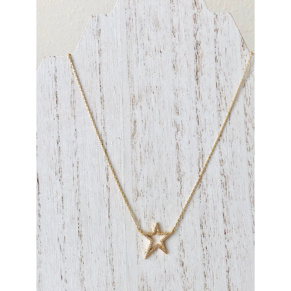 Sample Sale! CZ Star Necklace