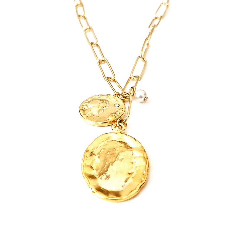 Ovalcoin Necklace