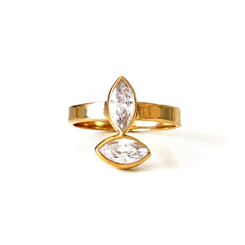 Aurelia Double Ring