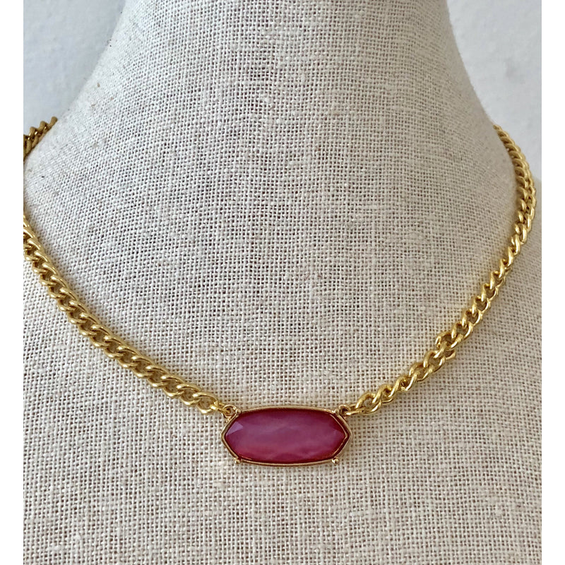 Sample Sale! Fuchsia Choker