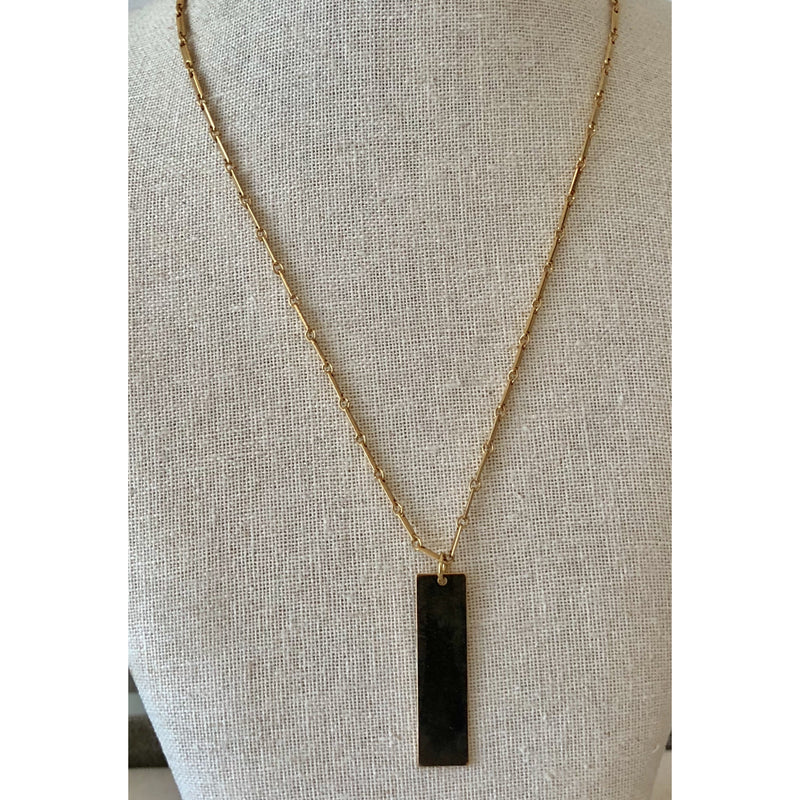 Sample Sale! Bar Necklace