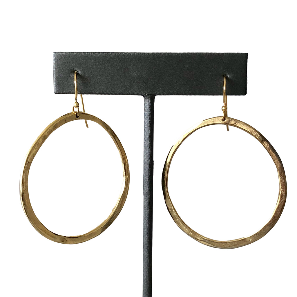 Sample Sale! Gold Ear Wire Hoop