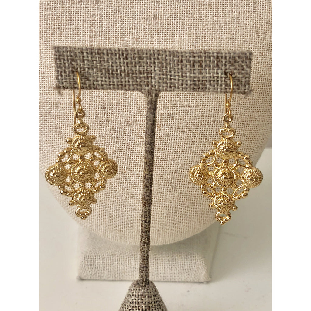 Sample Sale! Ornate Drop Earring