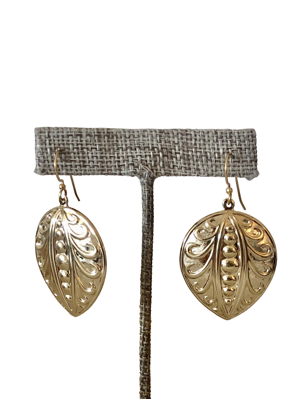 Sample Sale! Gold Pear Earring