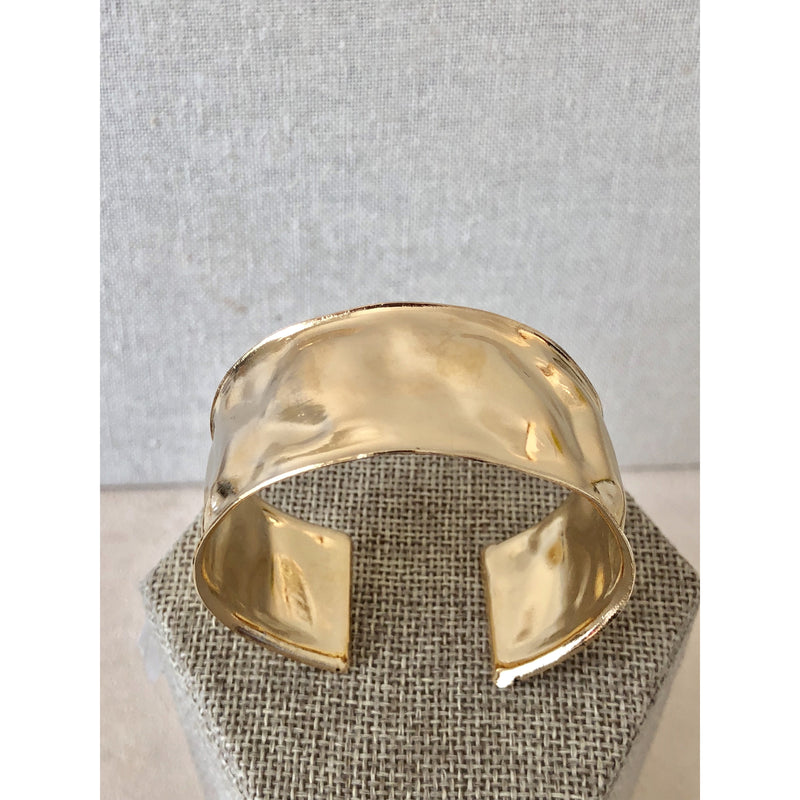 Sample Sale! Textured Gold Cuff