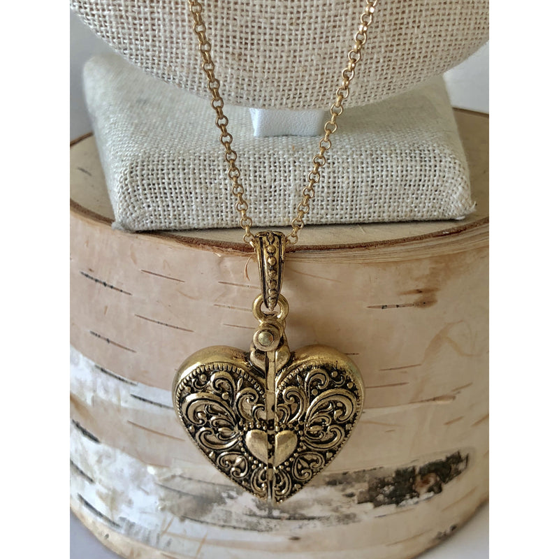Sample Sale! Hidden Heart Necklace