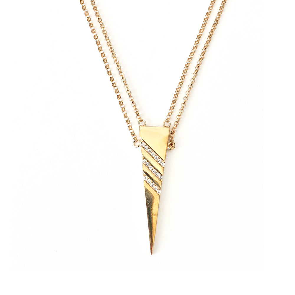 Laila Double Chain Necklace