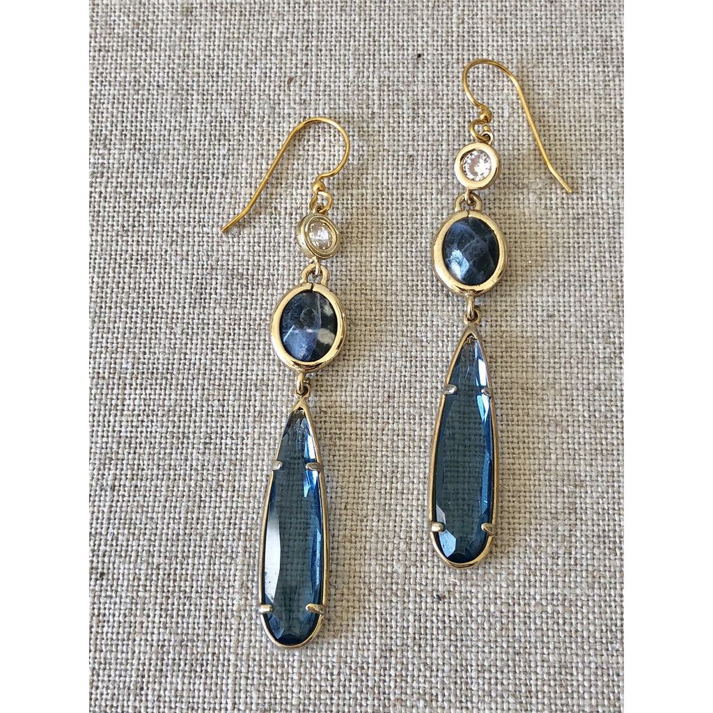 Sample Sale! Sample Sale Lapis Drop Earring