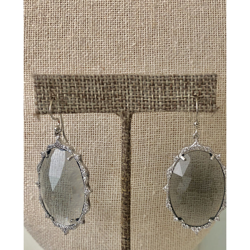 Sample Sale! Smoky Quartz Crystal Earring