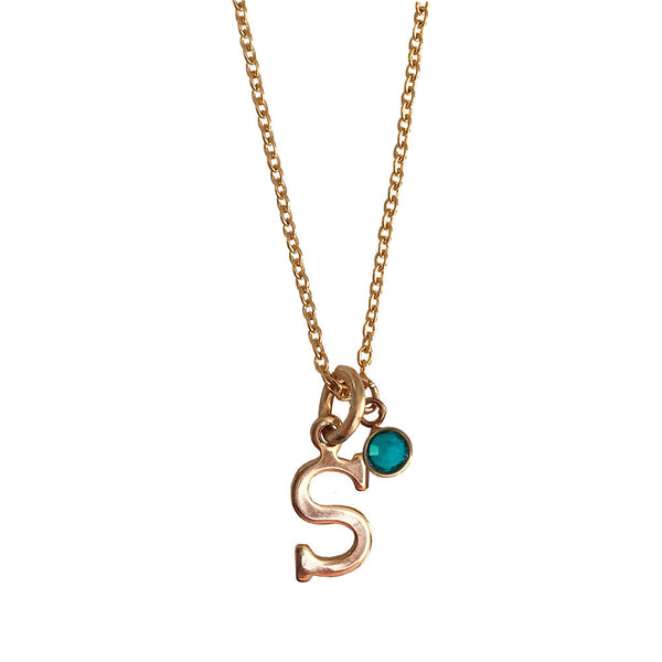 Lisette Birthstone Necklace