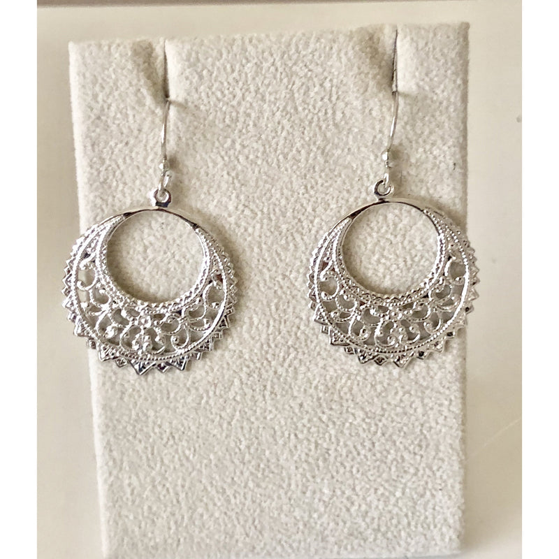 Sample Sale! Mini Open Round Earring