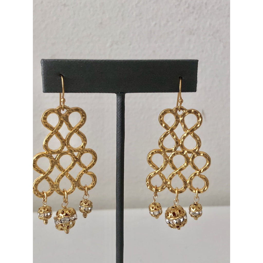 Sample Sale! Ribbon Dangle Earring