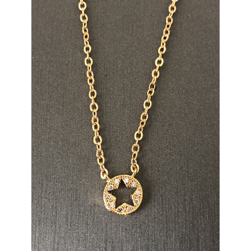 Sample Sale!  Open Star Necklace