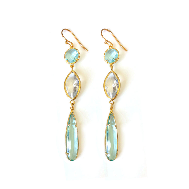 Sea Green Earring