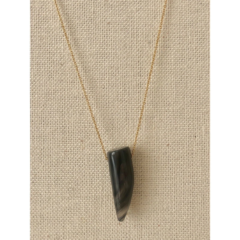 Sample Sale! Shark Tooth Necklace