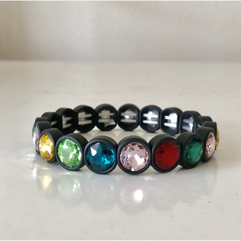 Mini Crystal Stretch Cuff