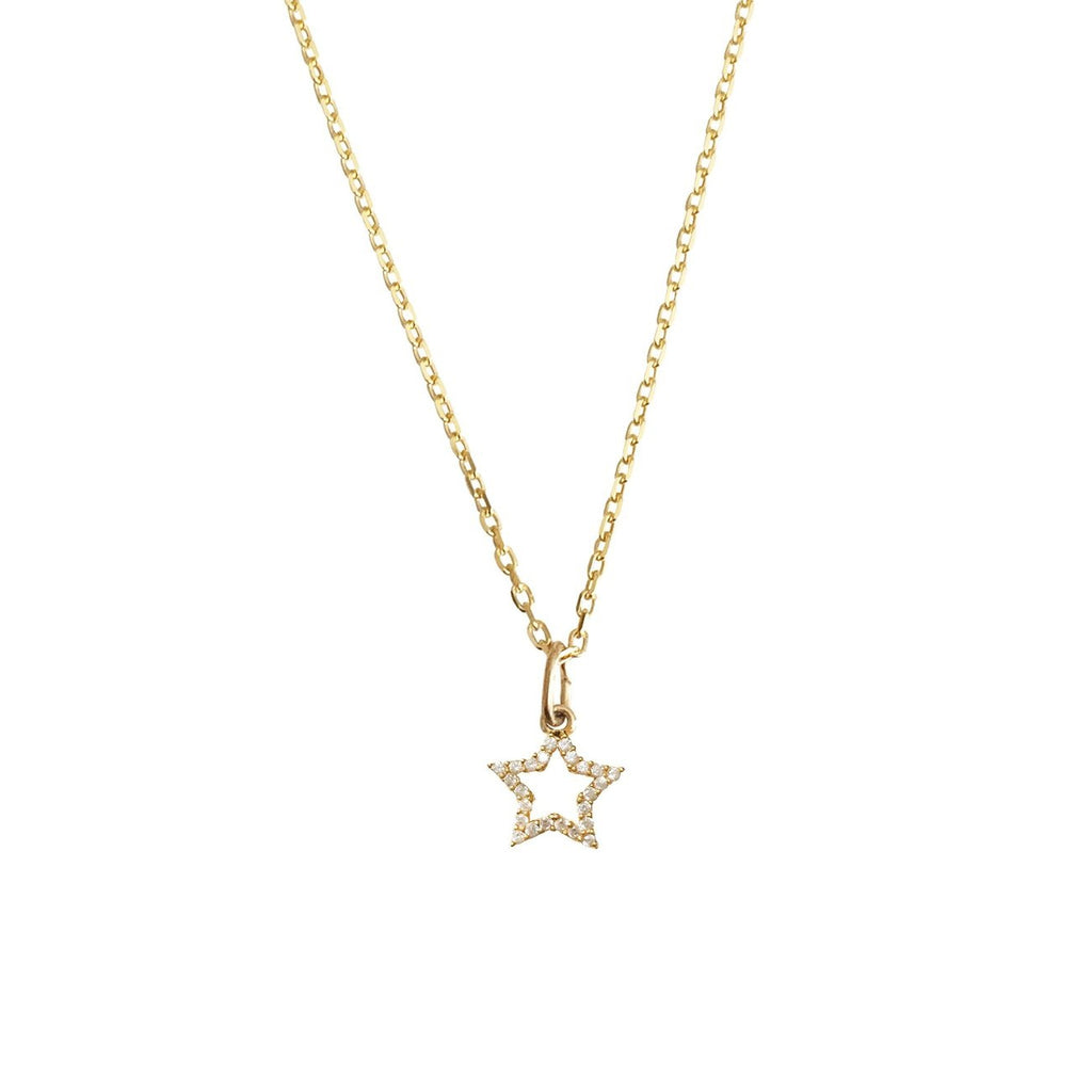Luxe CZ Star Necklace