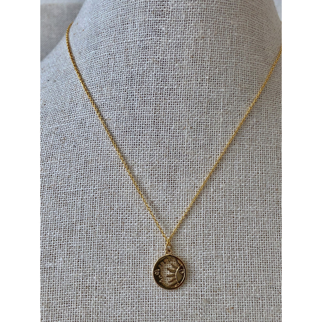 Sample Sale! Sun and Moon Necklace