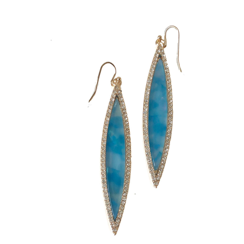 Suranne Marquis Blue Shimmer Earring