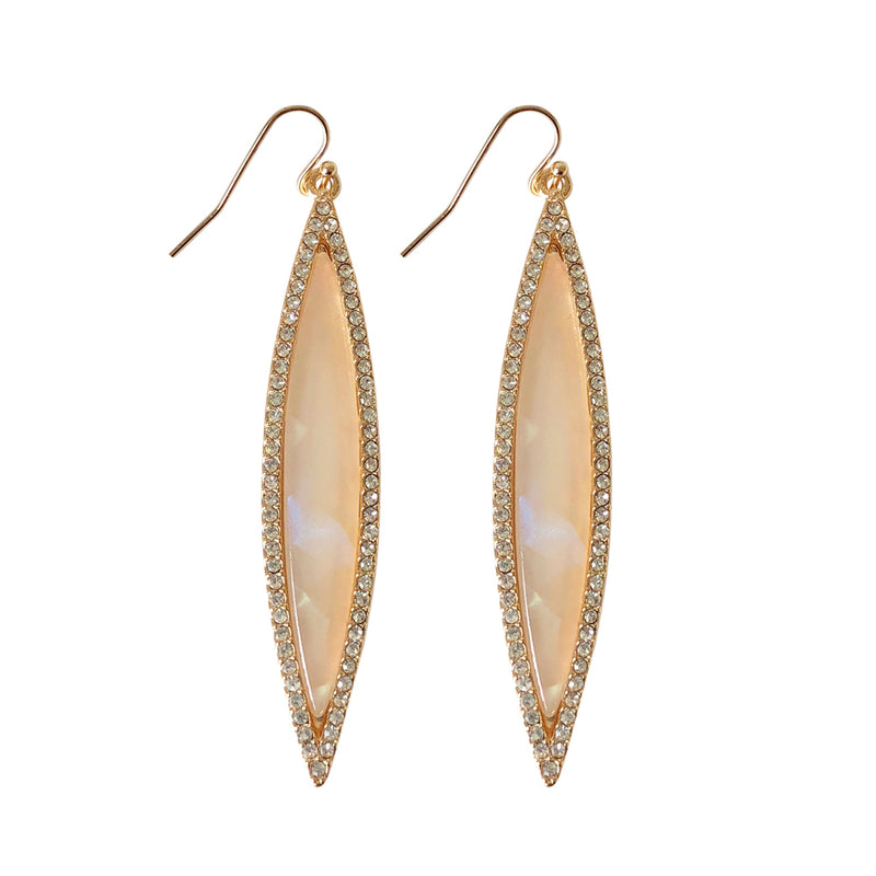 Suranne Marquis Blush Shimmer Earring