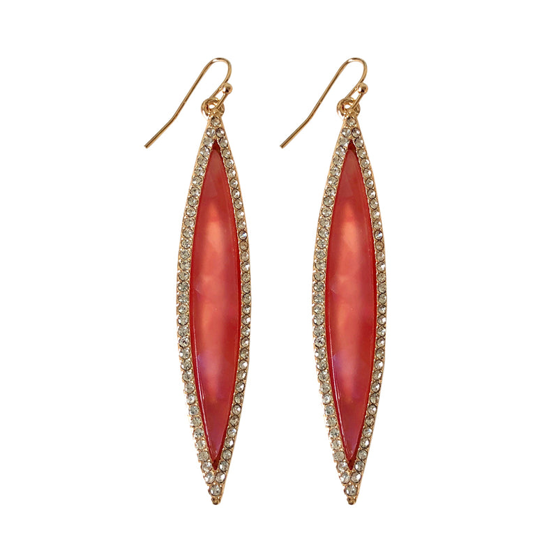 Suranne Marquis Coral Shimmer Earring