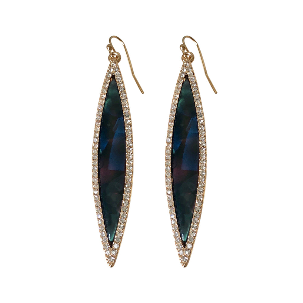 Suranne Marquis Sapphire Shimmer Earring