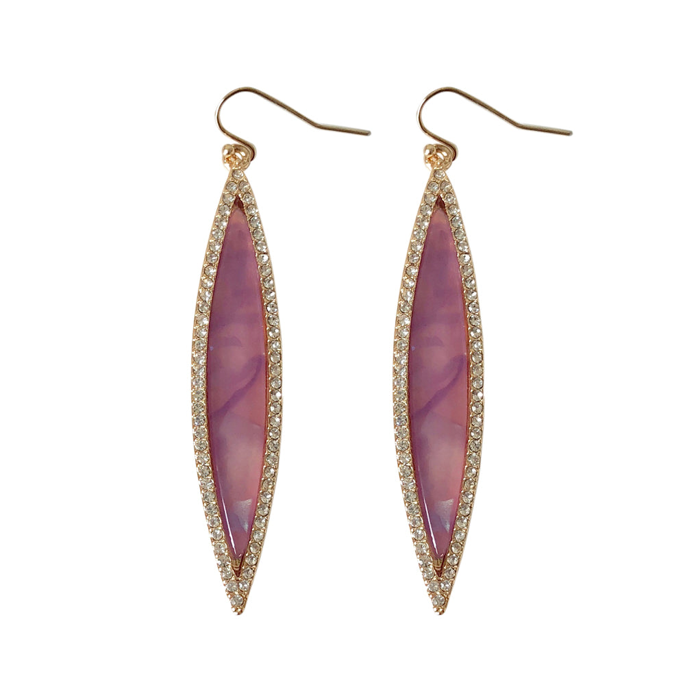 Suranne Marquis Violet Shimmer Earring