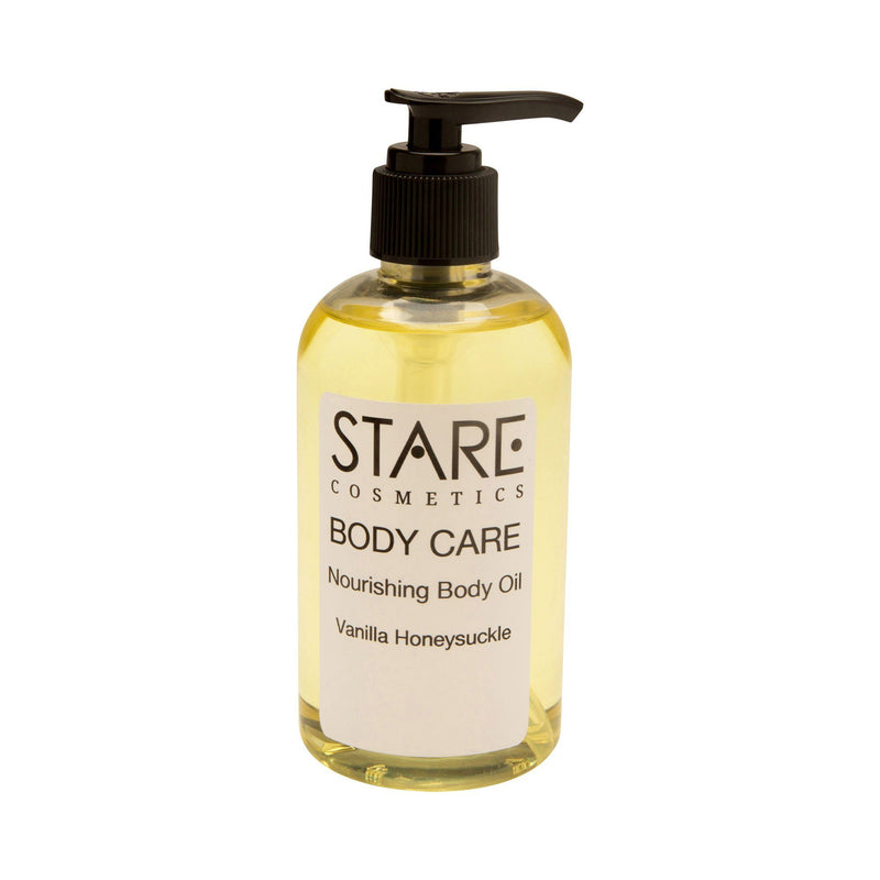 Body Care - Replenishing Body Oil Body Care STARE Cosmetics 8 ounces Vanilla Honeysuckle