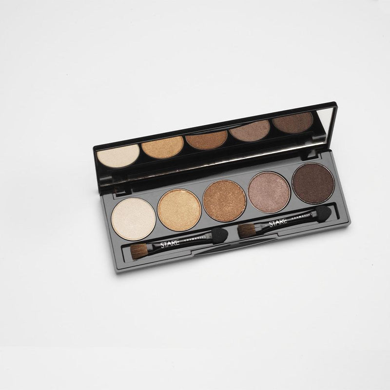 Shadow Five Palette Eyeshadow STARE Cosmetics Coffee Bay