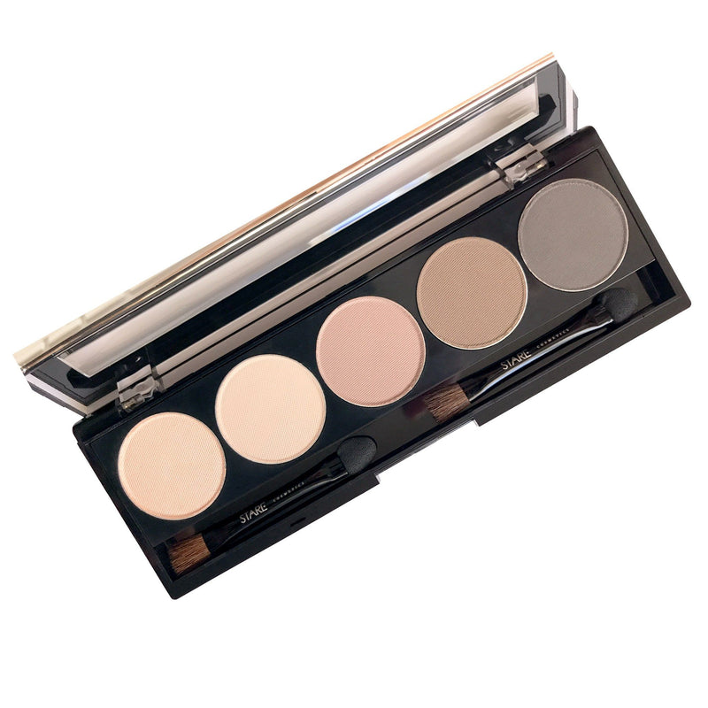 Shadow Five Palette Eyeshadow STARE Cosmetics Just Barely (Matte)