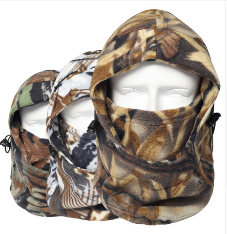 Camouflage Thermal Fleece Face Mask