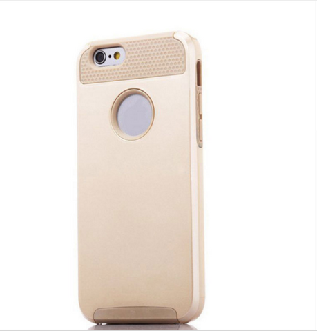 Gold iPhone 6 Series Cases Hybrid Shockproof Hard Heavy Duty Rubber - Fully Loaded Essentials