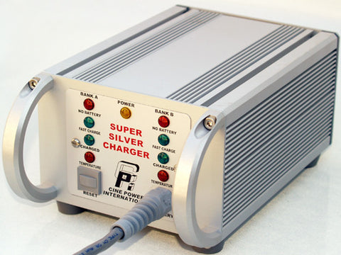 Cinepower Super Silver Battery Charger