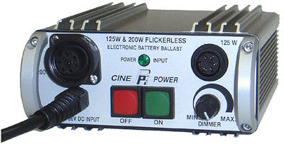 Cinepower 125-200W DC Ballast