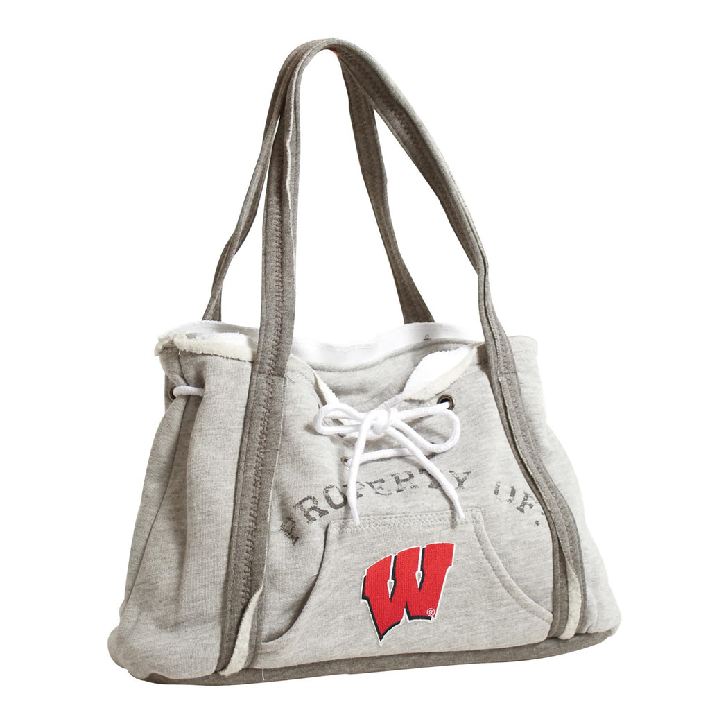 WISCONSIN BADGERS NCAA GAMEDAY HOODIE PURSE HANDBAG