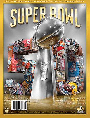 SUPER BOWL 50 OFFICIAL PROGRAM SHIPS NOW IN STOCK