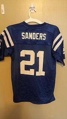 INDIANAPOLIS COLTS BOB SANDERS  FOOTBALL JERSEY SIZE LARGE 14-16 YOUTH
